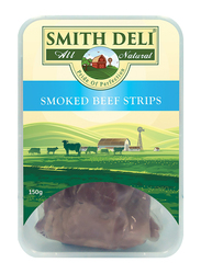 Smith Deli Smoked Beef Strips, 150 grams