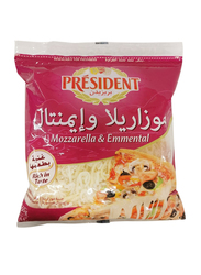 President Shredded Emmental & Mozzarella Cheese, 450g