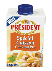 President UHT Special Cussion Cooking Pro Cream, 200ml
