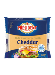 President Delicious Burger Cheddar Cheese Slices, 150g