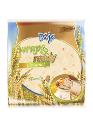 Dijo 25cm Wrap & Ready Original Wheat Tortilla, 4 x 62.5g