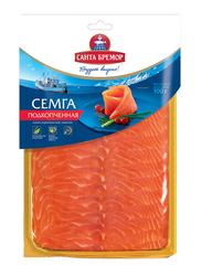 Santa Bremor Soft Smoked Salmon Fillet Slices, 100 grams