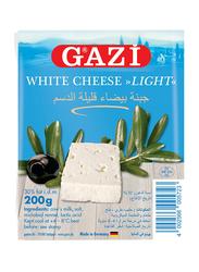 Gazi Feta 30% Light, Soft Vacuum-Packed Cheese, 200g