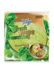Dijo 25cm Fresh Wrap Spinach Tortilla, 4 x 62.5g
