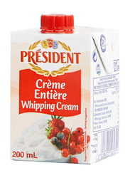 President UHT Entiere Whipping Cream, 200ml