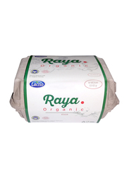 Lactio Raya Organic White Eggs, 6 Pieces