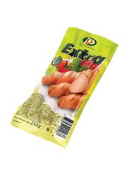 Perutnina Extra Big Chicken Frankfurter, 250 grams