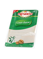 President Goat Cheese Slices, 150g