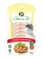 Perutnina Slim & Fit Smoked Chicken Breast Slice, 100 grams
