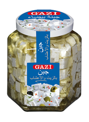 Gazi 45% Soft Cheese Cubes in Oil with Herbs, 300g