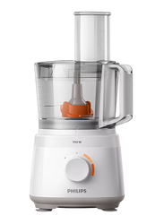 Philips Daily Collection Compact Food Processor, 700W, HR7310, White