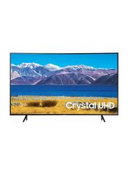 Samsung 55-inch Curved Crystal 4K UHD LED Smart TV, UA55TU8300, Black