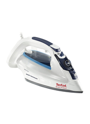 Tefal Smart Protect Steam Iron, 2600W, FV4980, White