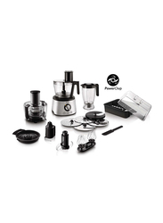Philips Avance Collection Food Processor, 1300W, HR7778, Silver/Black