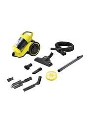 Karcher Canister Vacuum Cleaner, VC 3 Plus, Yellow/Black