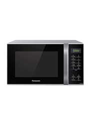 Panasonic 25L Microwave Oven, 800W, with Quick 30 Function, NNST34H, Silver/Black
