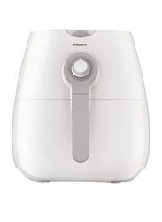 Philips Daily Collection Air Fryer with Rapid Air, 1425W, HD9216, White