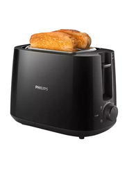 Philips Daily Collection Toaster, 760-900W, HD2581, Black