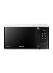 Samsung 23L Microwave Ovens, 1150W, MS23K3513AW, Black/White