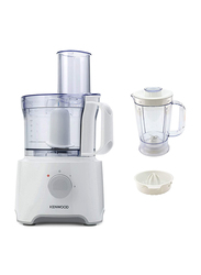 Kenwood Multipro Compact Food Processor, 800W, FDP303, White