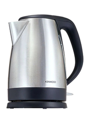 Kenwood 1.7L Electric Stainless Steel Kettle, 3000W, SJM280, Silver/Black
