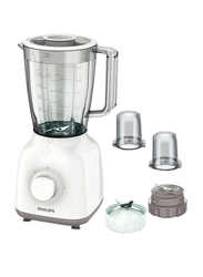 Philips 1.5L Daily Collection Blender, 400W, HR2114, White