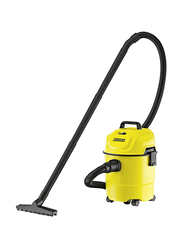 Karcher Wet & Dry Vacuum Cleaner, 15L, WD1, Yellow/Black