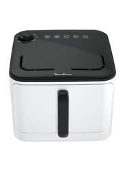 Moulinex Air Fryer, 1450W, EZ10A127, Black/Clear
