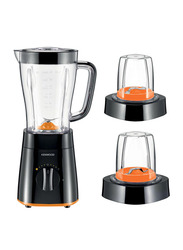 Kenwood Blender with 2 Mill, 500W, BLP15.360, Black