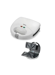 Kenwood Multi-Functional Plate Sandwich Maker, 750W, SMPO1, White