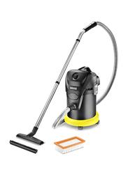 Karcher Wet & Dry Vacuum Cleaner, 17L, AD3 Premium, Yellow/Black