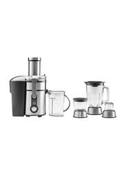 Gastroback Design Stainless Steel Digital Plus Multi Juicer, 1300W, 40152, Black/Silver/Clear