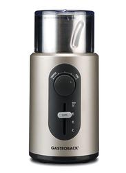 Gastroback Design Coffee Basic Grinder, 200W, 42601, Silver
