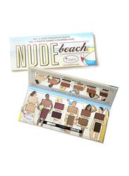 The Balm Nude Beach Eyeshadow Palette,  11.08gm,  Multicolor