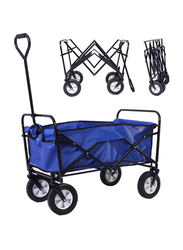 All-Terrain Foldable Wagon, Ages 2+, Navy Blue