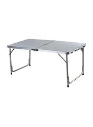 Foldable Table, 120 x 60cm, Grey