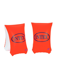 Intex Deluxe Swimming Arm Bands, Red, Ages 6+