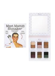 The Balm Meet Matt(e) Shmaker Eyeshadow Palette,  9.6gm,  Multicolor