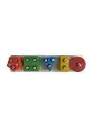 Wooden 3D Geometric Jigsaw Puzzle