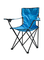 Folding Camping Chair, Blue