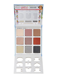 The Balm Appetit Eyeshadow Palette,  Dude for Thought,  Multicolor
