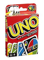Mattel 108-Pieces Get Wild Uno Card Game