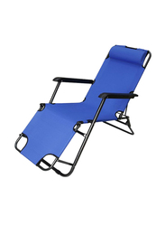 Generic 3-in-1 Foldable Beach Chair, Blue