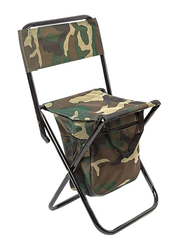 Camping Chair with Compact Storage Bag, Camouflage