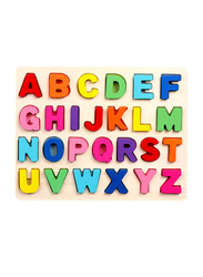 Cubic Digital Alphabet Building Puzzle