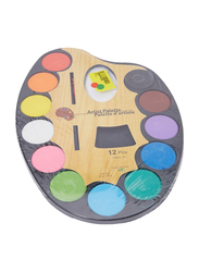 Alisun Artist Palette with Water Colors Set, All Ages