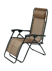 Foldable Camping Chair, Brown
