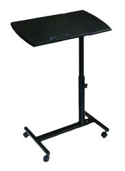 Goldedge Adjustable Folding Table, 120cm, Black