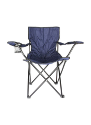 Y&D Foldable Camping Chair, Navy Blue