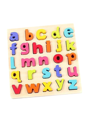 Toyshine Wooden English Small Letters Puzzle Toy